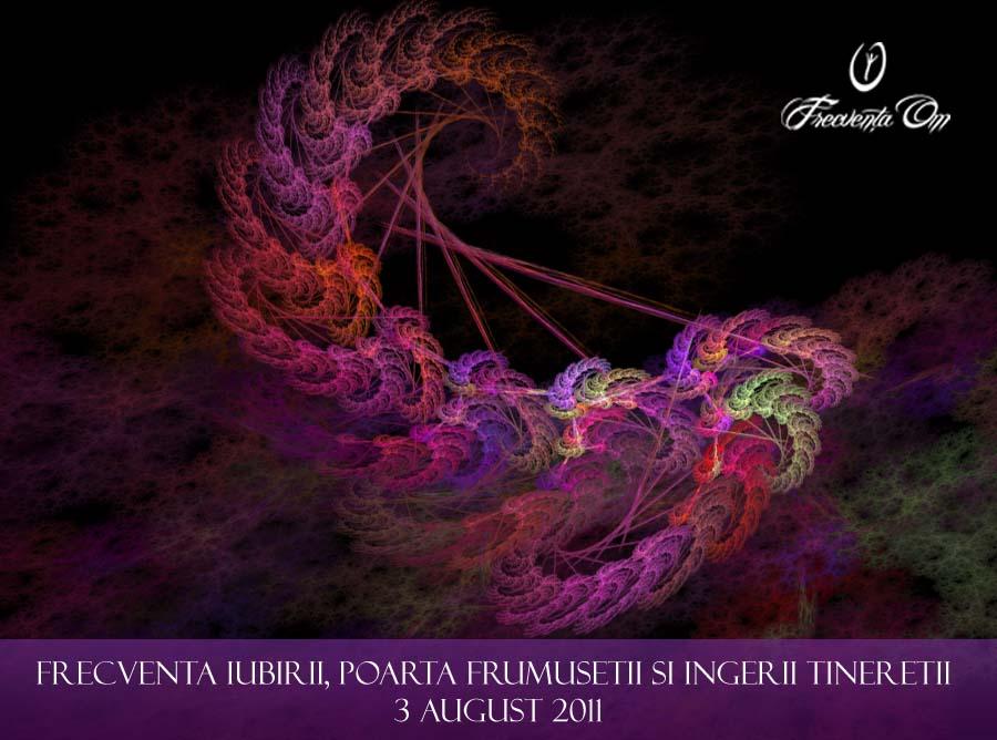 Frecventa Iubirii, Poarta Frumusetii si Ingerii Tineretii, 3 august, seminar conectiv