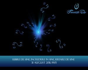 Iubire de Sine, Incredere in Sine, Iertare de Sine – seminar conectiv- 31 August 2011