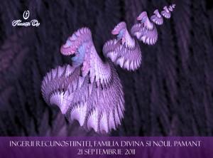 Ingerii Recunostiintei, Familia Divina si Noul Pamant, 21 septembrie ora 19 15 in Serendipity