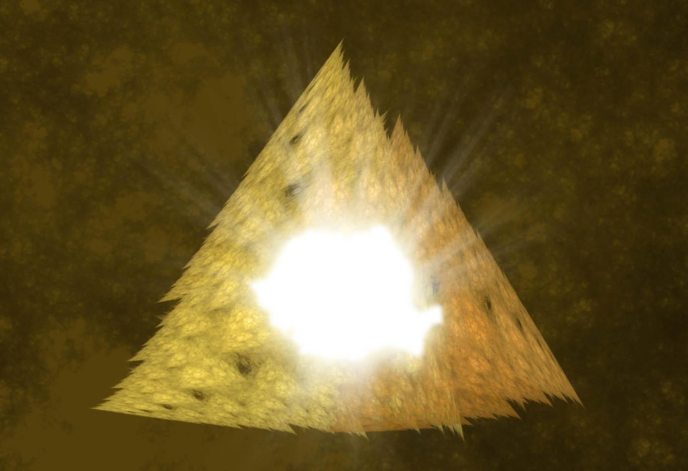 Despre piramida interioara…