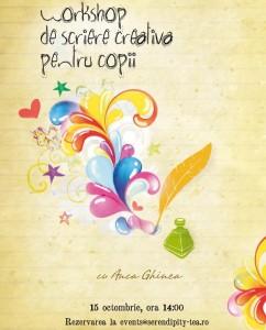 Workshop de scriere creativa pentru copii