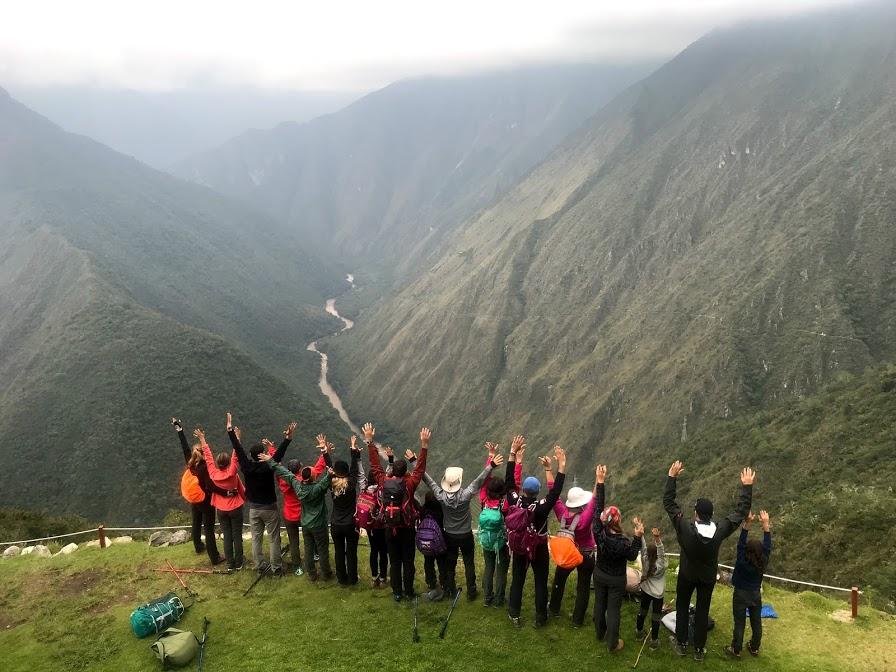 Drumul incas si radiantul Machu Picchu