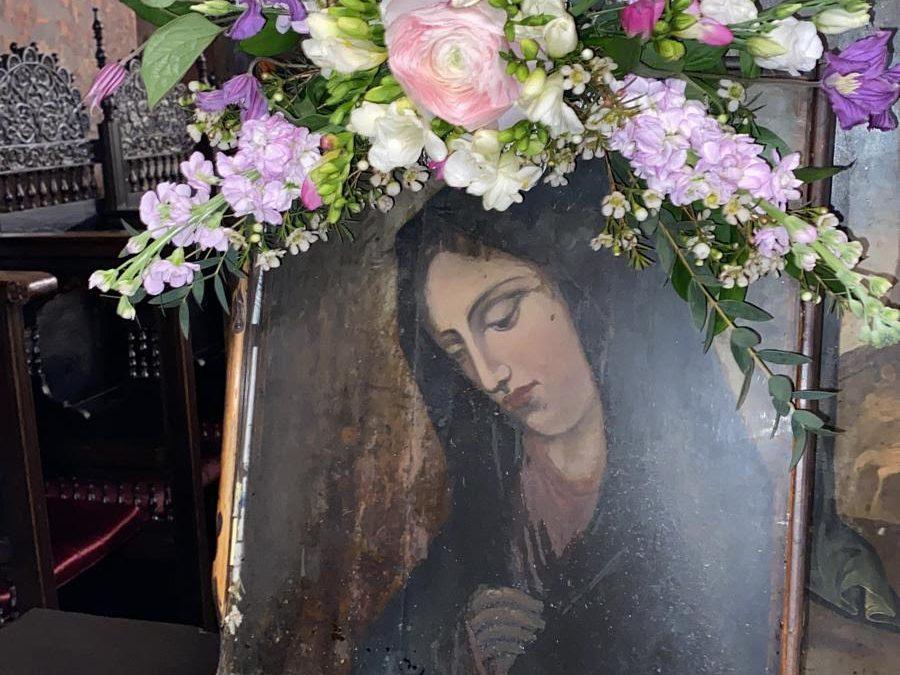 Manastirea Vlahia. Preotia Florilor. Cei trei calugari….